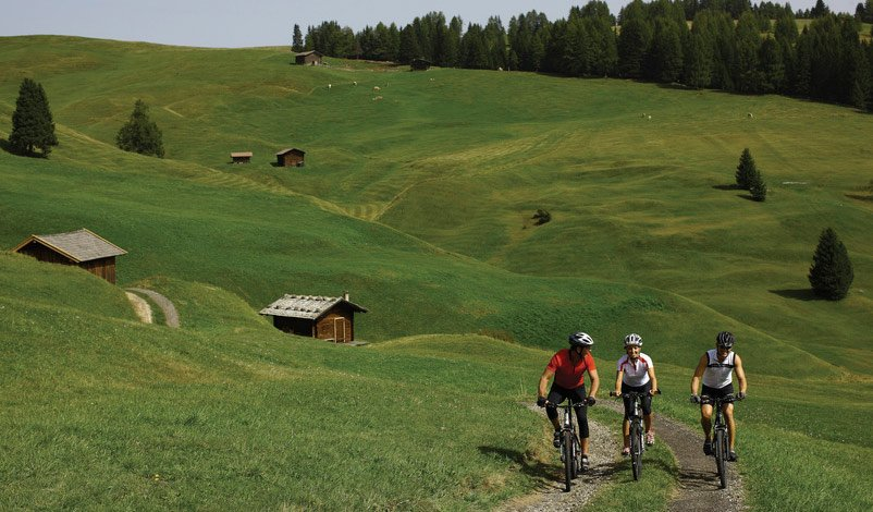 Active and sport on the Alpe di Siusi