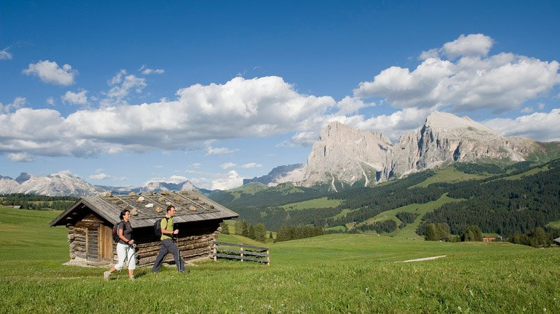 Holidays on the Alpe di Siusi