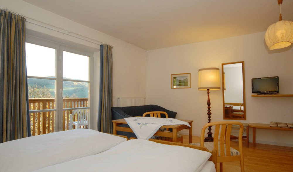 Zimmer in den Dolomiten